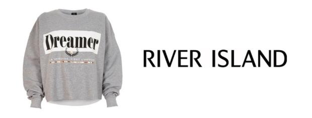 River Island Dreamer Sweatshirt