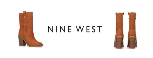 Nine West Harbourn Tan Boots