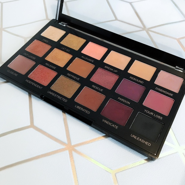 Revolution pro unleashed palette