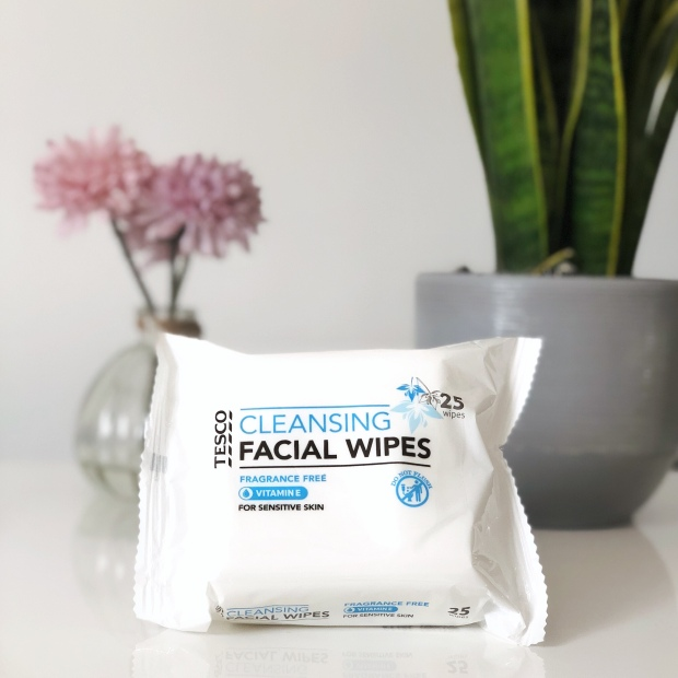 Tesco Sensitive Face Wipes