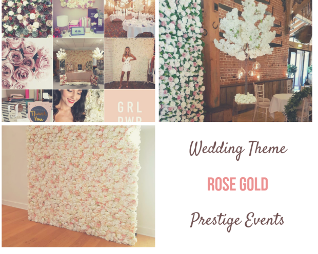 Prestige events and weddings