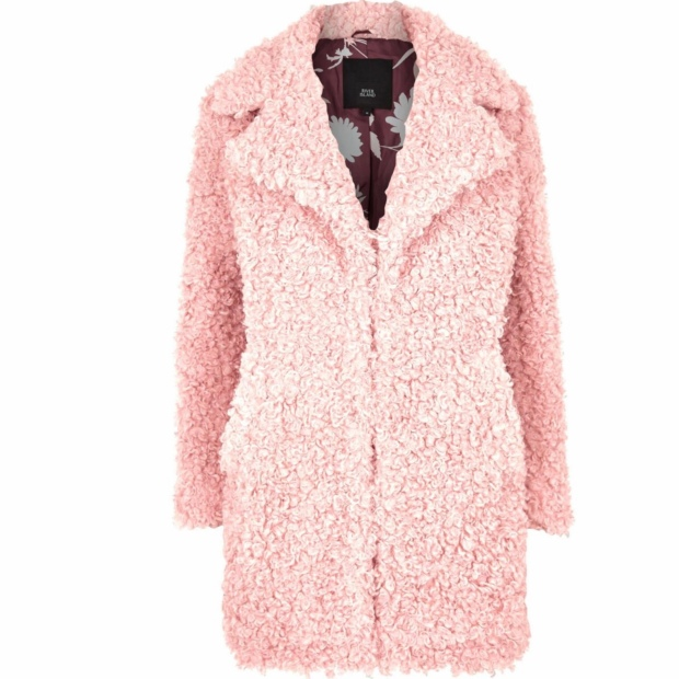 River Island Teddy Coat